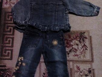 Свежее фотографию Детская одежда Продам джинсовый костюм р-р45 на девочку 36903888 в Новосибирске