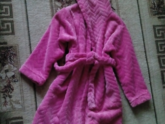 Скачать бесплатно фото Детская одежда Продам халат банный для девочки р-р 116 36903965 в Новосибирске