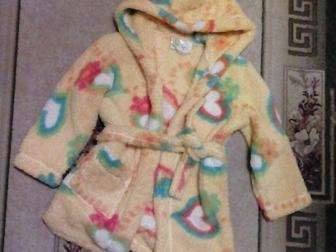 Новое foto Детская одежда Продам халат банный для девочки 6-7 лет 36903973 в Новосибирске