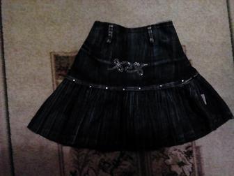 Скачать фото Детская одежда Продам Джинсовую юбку на 4-5 лет 36904073 в Новосибирске