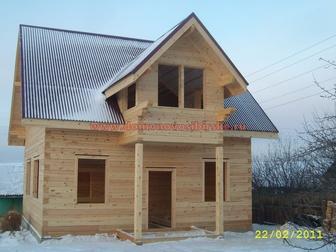 Свежее изображение  Построить дом, дачу или баню из строганного или профилированного бруса, 36936674 в Новосибирске