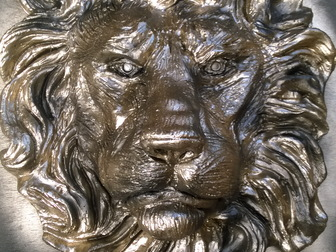 Просмотреть изображение  Барельеф головы льва 37578055 в Новосибирске