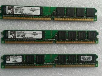 Просмотреть фото Комплектующие для компьютеров, ноутбуков Оперативная память Kingston KVR800D2N5/1G 37645684 в Новосибирске