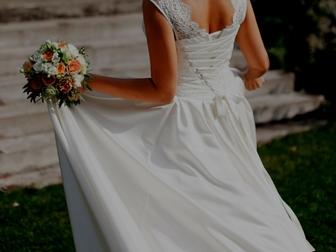 Уникальное фото Свадебные платья Продам свадебное платье, Без лишних наворотов, страз и бантиков, 37824883 в Новосибирске