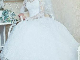 Новое foto  Свадебное платье, 38439692 в Новосибирске