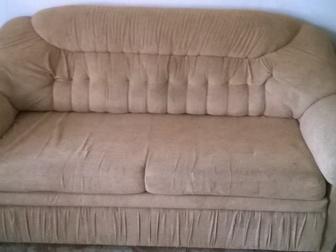 Скачать фотографию Отдам даром - приму в дар диван и два кресла -кровати 39609699 в Новосибирске