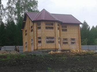 Уникальное фотографию Строительство домов строим бани, дома из бруса , сибита от фундамента под ключ 56982245 в Новосибирске