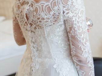 Скачать изображение Свадебные платья свадебное изящное платье за пол цены 66385504 в Новосибирске
