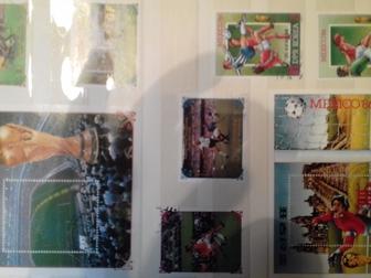 Уникальное фото Коллекционирование продам марки спортивные ЧМ по разных лет по футболу и марки СССР 400 шт недорого 66411553 в Новосибирске