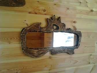 Увидеть изображение  Деревянные рамки ручной работы для зеркал и картин на заказ 68339664 в Новосибирске