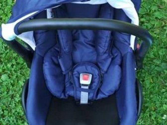 Продается детская коляска Tutic Patriot 3 в 1,  В комплект входит люлька, прогулочный блок и автокресло 0 Люлька с высокими бортами, имеет хорошую ширину,  Внутренняя в Новосибирске
