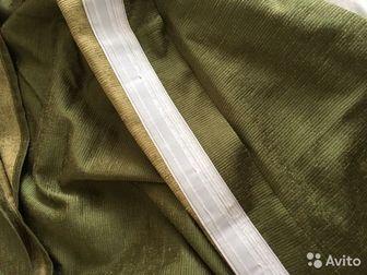 Продам шторы в идеальном состоянии, Высота 240(можно выпустить до 260),ширина 140, Цвет реально получился на втором фото, Плотные,хорошо защищают от света, В наличие в Новосибирске