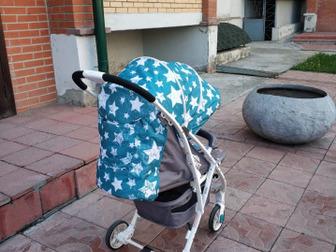 Продаю Коляску прогулочная Largo (Rant), в отличном состоянии! Возраст ребенка:до 3 летМатериал обивки:ТканьМаксимальный вес ребенка:15 кг, Горизонтальное положение в Новосибирске
