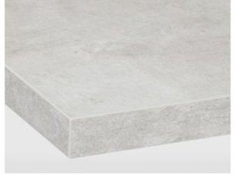 Продам 2 столешницы новые: ЭКБАККЕН Столешница, светло-серый под бетон, ламинат, Размеры 246x2, 8 см-1шт  1, 40*2, 8-1, шт,  !!!!цена за обе столешницы! в Новосибирске