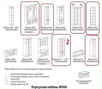 Фотография в Мебель и интерьер Мебель для гостиной В связи с переездом срочно продаю корпусную в Новосибирске 60000