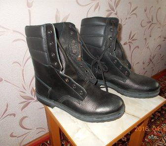 Фотография в Одежда и обувь, аксессуары Женская обувь Берцы, черного цвета, натуральная кожа, новые, в Новосибирске 1500