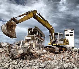 Foto в Строительство и ремонт Строительство домов Предлагаем демонтажные работы профессионального в Новосибирске 100