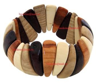 Изображение в   Оптовая продажа деревянной бижутерии (серьги, в Новосибирске 100