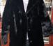 Фото в Одежда и обувь, аксессуары Женская одежда Шуба женская мутоновая новая черная, р. 48 в Новосибирске 3000