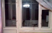 Два окна и балконный блок деревянные