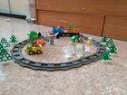 Поезд ферма lego