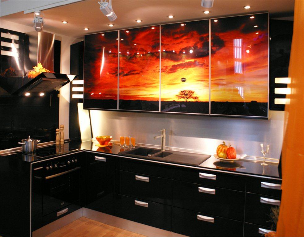 Дизайн кухонной мебели фото
