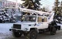 Автоподъёмник, автовышка TA-14 на базе шасси ГАЗ-33081