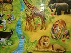 Развивающий плакат с животными