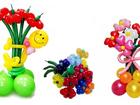 Скачать фотографию  Оформление шарами, гелиевые шары, фигурки из шаров, гирлянды 37927870 в Орле