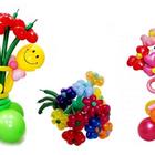 Оформление шарами, гелиевые шары, фигурки из шаров, гирлянды