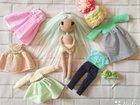 Кукла ручной работы, игрушка ручной работы