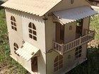 Кукольный домик двусторонний дерево