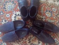 Продам одежду на мальчика Обувь три пары р-р 40 ( сапоги весна - осень, туфли, м