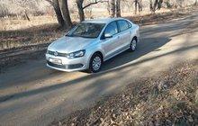 Volkswagen Polo 1.6AT, 2013, 8194км
