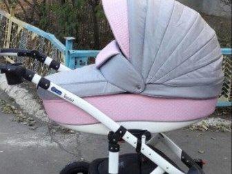 Современная модульная коляска 2 в 1 на алюминиевой раме с обивкой, на 50% выполненной из эко-кожи,  Новая конструкция алюминиевой рамы отличается не только своим в Орске