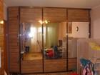 Фотография в Мебель и интерьер Мягкая мебель шкаф-купе, стенку. (фасад пластик)все в отличном в Пензе 0