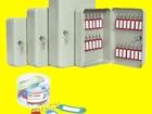 Фото в Мебель и интерьер Офисная мебель Металлические настенные ключницы – это специальные в Пензе 100