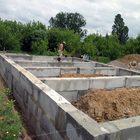 Ленточный фундамент для дома построим в Пензе