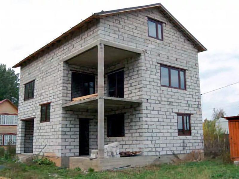 Дачные дома из пеноблоков (42 фото видео-инструкция как построить)