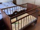 Детская кроватка и новый матрас
