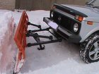 Свежее изображение Снегоуборочная техника Отвал снегоуборочный для а\м НИВА, УАЗ 33934115 в Перми