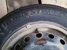 Уникальное изображение  Комплект 4 колеса на дисках, шины, с колпаками 37279671 в Перми