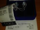Изображение в   Продам серьги с бриллиантами, белое золото в Перми 20000