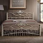 Кованная двуспальная кровать канцола