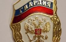 Нагрудный знак Гвардия Россия, Лот 1
