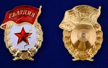 Нагрудный знак Гвардия СССР