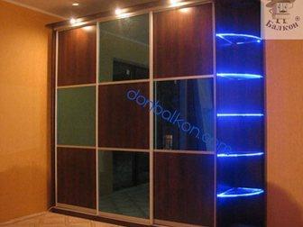 Увидеть фото Двери, окна, балконы Шкафы купе Пермь, Рассрочка 0%, 33144662 в Перми