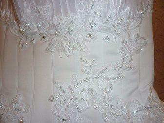 Увидеть foto Свадебные платья Продам белоснежное свадебное платье 33373563 в Перми