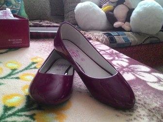 Просмотреть фото Детская обувь Туфли (балетки) р-р 38 34805201 в Перми
