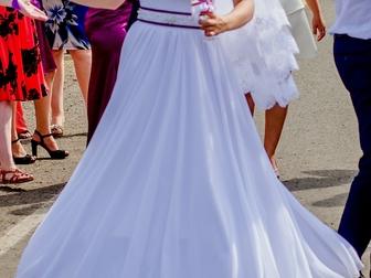 Увидеть foto  Свадебное платье с фатой 38886287 в Перми